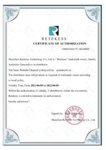 RETEKESS официальный дистрибьютор